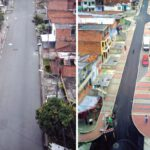 سانتو دومینگو؛ مِدِلین، مسکن غیررسمی